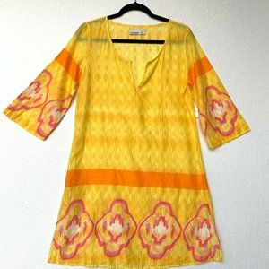 Old Navy Women Blouse Tunic Size Small V Neck 3/4